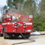 Fire restoration sandblasting for Cal Fire in California 10