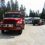 Fire restoration sandblasting for Cal Fire in California 2