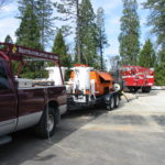 Fire restoration sandblasting for Cal Fire in California 4