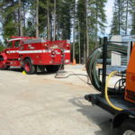 Fire restoration sandblasting for Cal Fire in California 5