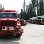 Fire restoration sandblasting for Cal Fire in California 6