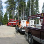 Fire restoration sandblasting for Cal Fire in California 7
