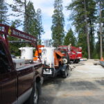 Fire restoration sandblasting for Cal Fire in California 8