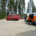 Fire restoration sandblasting for Cal Fire in California 9