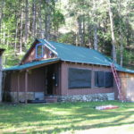 Log home sandblasting in Grass Valley California