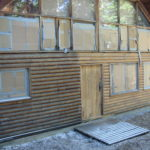 Log home sandblasting in Placerville California 5