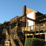 Log home sandblasting in Truckee California