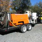 Our mobile sandblasting rig comes to your project location 2