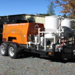 Our mobile sandblasting rig comes to your project location 3