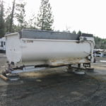Truck transfer box sandblasting in Grass Valley CA 1
