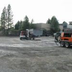 Truck transfer box sandblasting in Grass Valley CA 10