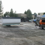 Truck transfer box sandblasting in Grass Valley CA 12