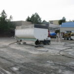 Truck transfer box sandblasting in Grass Valley CA 13