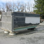 Truck transfer box sandblasting in Grass Valley CA 15
