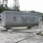 Truck transfer box sandblasting in Grass Valley CA 17