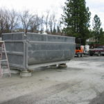 Truck transfer box sandblasting in Grass Valley CA 18