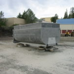 Truck transfer box sandblasting in Grass Valley CA 19