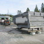 Truck transfer box sandblasting in Grass Valley CA 5
