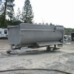 Truck transfer box sandblasting in Grass Valley CA 6