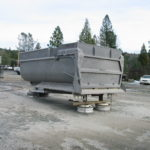 Truck transfer box sandblasting in Grass Valley CA 7