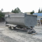 Truck transfer box sandblasting in Grass Valley CA 8