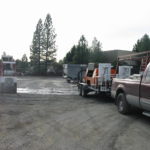 Truck transfer box sandblasting in Grass Valley CA 9