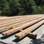 Wood beam sandblasting in Auburn California 10