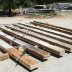 Wood beam sandblasting in Auburn California 9